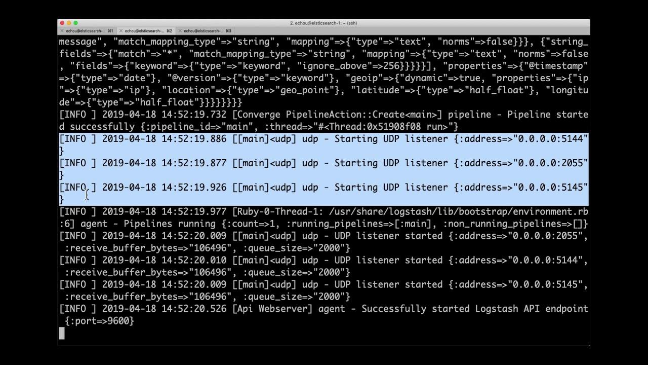 3  Cisco DevNet Create 2019 - Logstash config and output