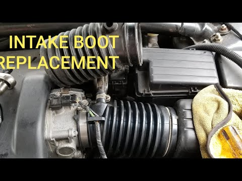 ACURA TL INTAKE BOOT REPLACEMENT TUTORIAL