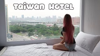 Chinese hot pot + Futuristic Hotel review | TAIWAN