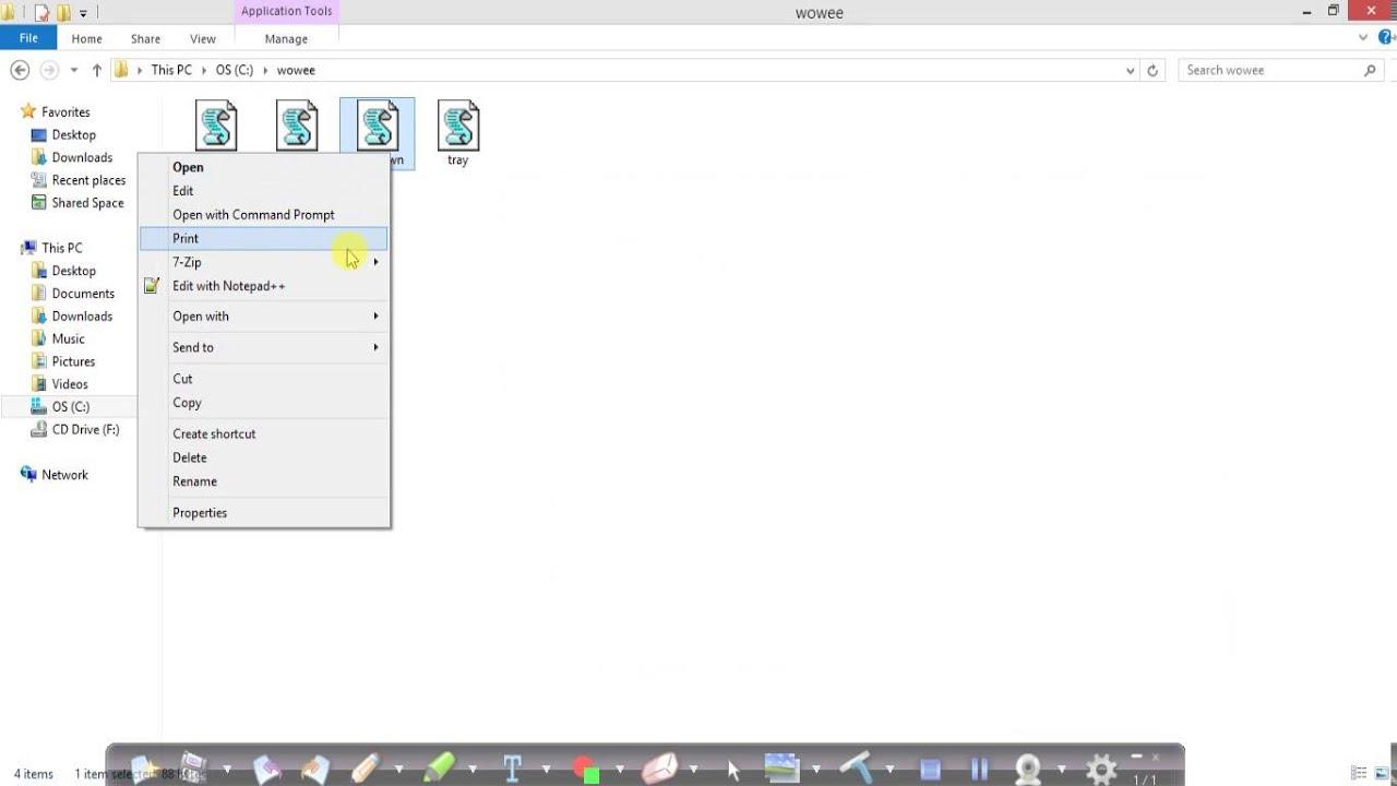 VBScript commands in Windows 8 1