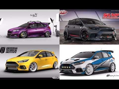 tuner ford focus rs st for sema 2017 youtube. Black Bedroom Furniture Sets. Home Design Ideas