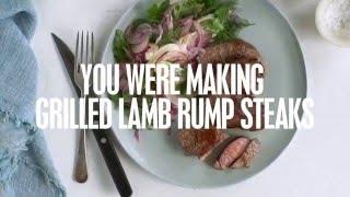Herb & Pistachio Crusted Lamb Rump | Caught Short Cook Book