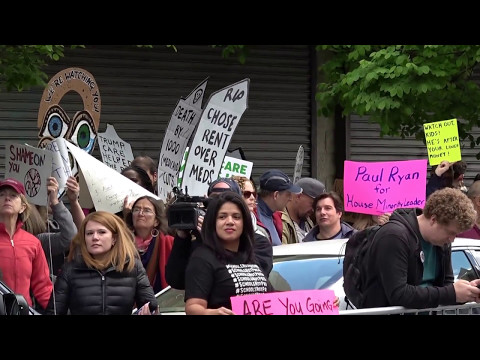 Paul Ryan Protest in NYC (1 of 2)