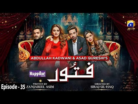 Fitoor - Ep 35 [Eng Sub] - Digitally Presented by Happilac Paints - 21st July 2021 - HAR PAL GEO