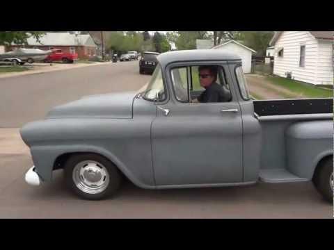 1958 Chevrolet Apache V8 In Matt Grau Youtube