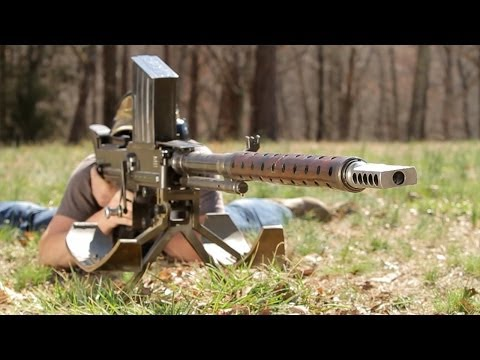 iMac vs 20mm Anti-Tank Lahti slow motion