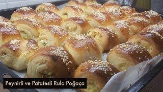 Peynirli ve Patatesli Rulo Poğaça - Naciye Kesici - Yemek Tarifleri