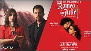 Varalaxmi Speaks on Romeo and Juliet stage play
