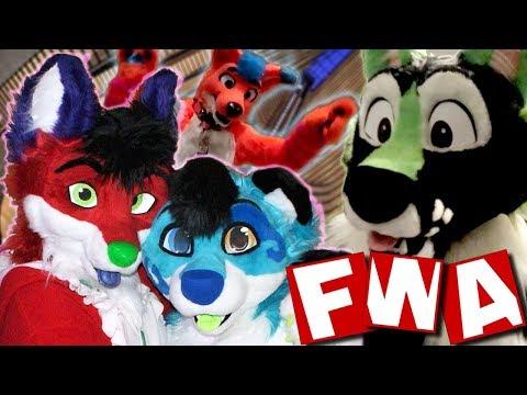TOO MANY FURRIES!!    Furry Weekend Atlanta 2019 Vlog