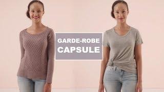 ♡Garde-robe capsule : automne 2017♡ 24 morceaux