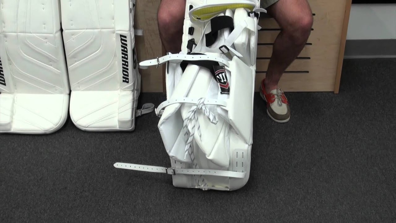 Warrior Ritual Leg Pads - YouTube