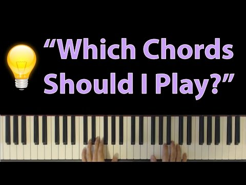 """Which Chords Should I Play Over This Melody?"" - Harmonization for Beginners"