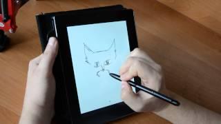Рисование на планшете Prestigio MultiPad Note 8.0. Часть 1
