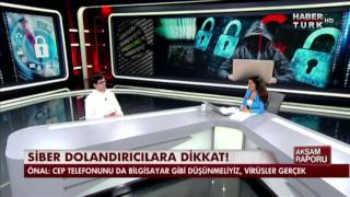 Haberturk TV Akşam Raporu Programı Huzeyfe Önal
