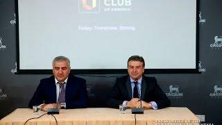 Կարեն Կարապետյանի և Սամվել Կարապետյանի ճեպազրույցը լրատվամիջոցների հետ