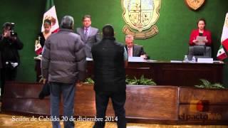 Sesión de cabildo 20 de diciembre 2013 Cd. Juárez, Chih.