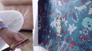 Advanced Wallpapering: Wallpapering Around Objects