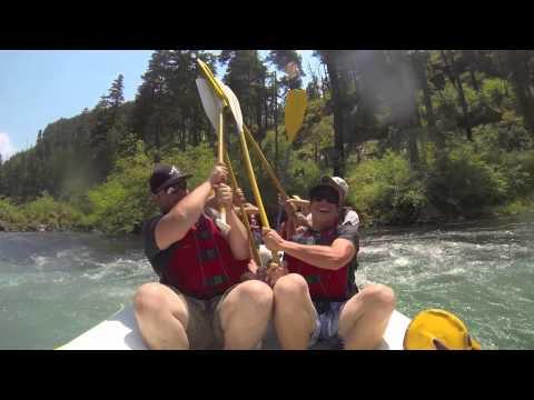 North Umpqua whitewater rafting Ashland Oregon