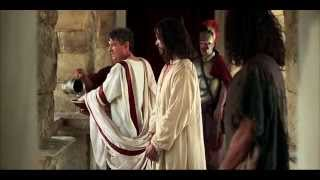 Jesus is Condemned Before Pilate.