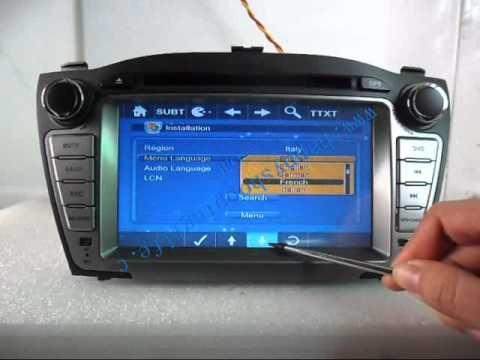 hyundai ix35 dvd player, hyundai ix35 dvd navigation, hyundai ix35 autoradio dvd GPS