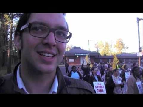 Chris Hutchinson for US Congress - SEIU 1199 Picket
