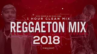 Reggaeton 2018 Clean Mix - 1 hour (Only hits)