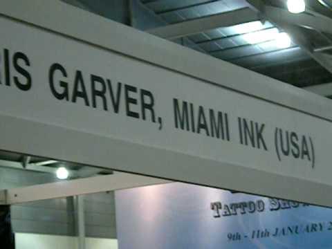 Chris Garver; Tattoo Convention Singapore 09'