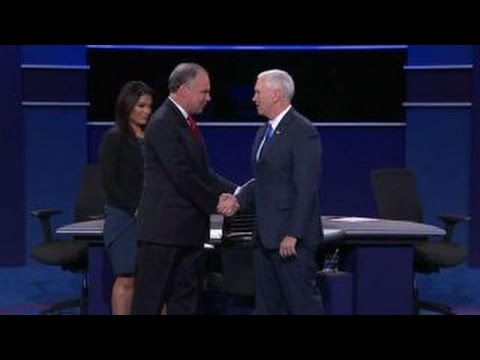 Part 1 of vice presidential debate at Longwood University