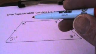 Calculating Angles Isosceles Zoid
