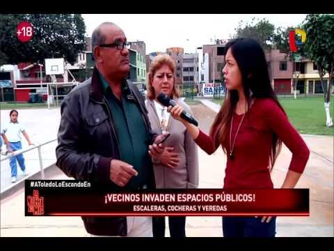 Vecinos continúan invadiendo espacios públicos en Lima