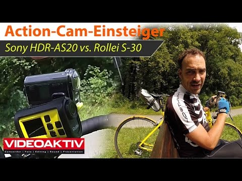 Action-Cams für Einsteiger: Sony HDR-AS20 vs Rollei S-30