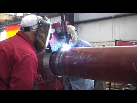 SCR (Steel Catenary Riser) welding
