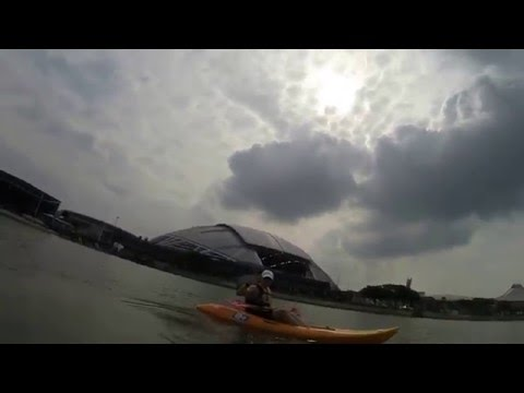 Good Friday Kayak at the Sports Hub - Singapore