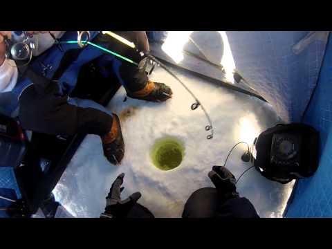 Ice Fishing, Battle On Bago 2015