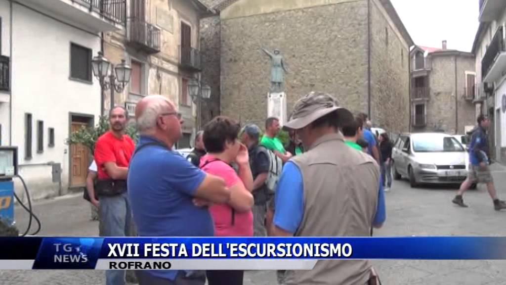 ROFRANO XVII FESTA DELL'ESCURSIONISMO