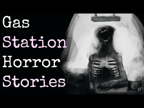 4 Creepy TRUE Gas Station Encounters from Hell