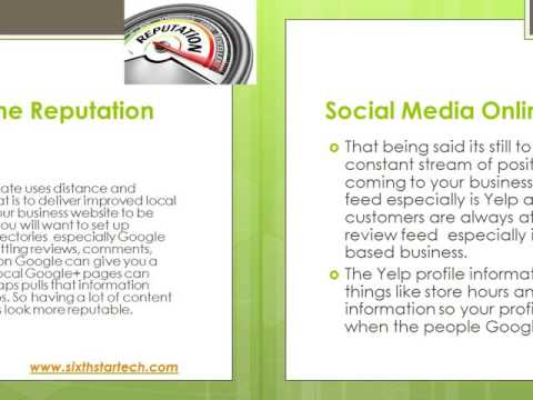 SIXTH STAR TECHNOLOGIES : Guide  Social Media Online Public Reputation Management Services