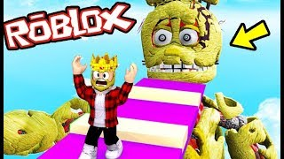 ANIMATRONICS ESCAPE DO ANIMATRONIC GIGANTE NO ROBLOX! | ROBLOX Five Nights at Freddy's