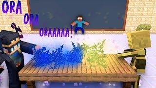 Monster School : Battle Stick - Minecraft Animation