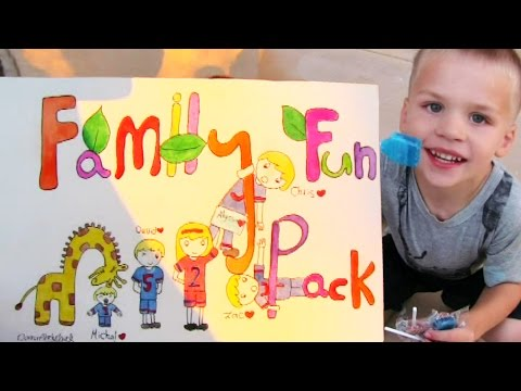 Family Fun Pack HUGE Fan Mail from Qatar, Saudi Arabia & the US