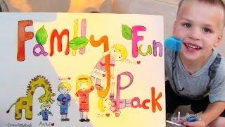 Family Fun Pack HUGE Fan Mail from Qatar, Saudi Arabia & the US