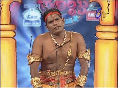 Extra Jabardasth -    -   Chammak Chandra Performance on 24th October 2014