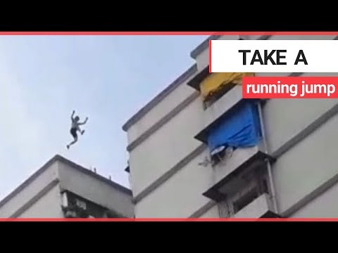 Six British 'free runners' escorted from India after leaping between high-rise buildings | SWNS TV