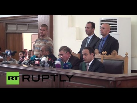 Egypt: Al Jazeera journalists sentenced to three years in prison