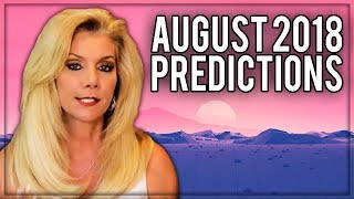 August 2018 Predictions: Ground Breaking, Transformational Discoveries