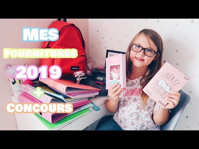 MES FOURNITURES SCOLAIRES 2019 - BACK TO SCHOOL    Lunah Lucornah