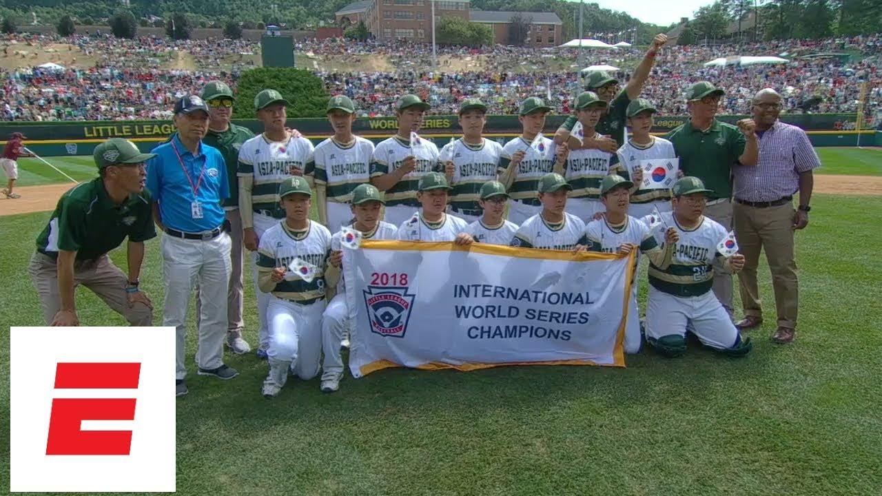 LLWS 2018 Highlights: South Korea holds off Japan to win International  Championship   ESPN