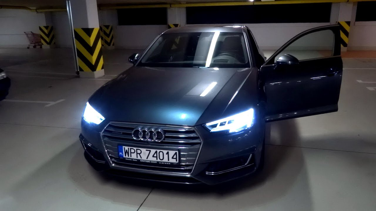 2016 audi a4 b9 quattro 2 0 tfsi 252 hp exterior. Black Bedroom Furniture Sets. Home Design Ideas