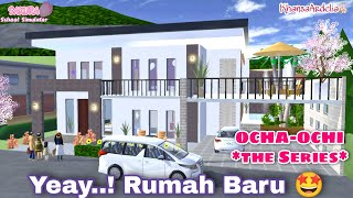 RUMAH BARU || OCHA-OCHI THE SERIES || DRAMA SAKURA SCHOOL SIMULATOR screenshot 4