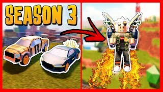 *SEASON 3* NEW JAILBREAK UPDATE JETPACKS, AUDI R8 AND RAPTOR - Roblox